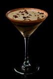 巧克力马蒂尼鸡尾酒 库存图片