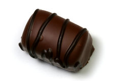 巧克力黑暗数据条 库存图片
