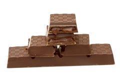 巧克力黑暗 库存图片