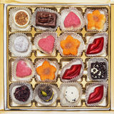 巧克力candie汇集 库存图片
