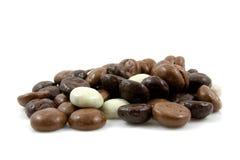 巧克力gingernuts pepernoten 免版税库存照片