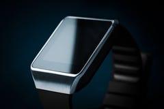 巧妙的手表 Smartwatch概念 库存图片