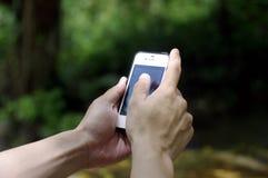 巧妙的电话本质上 免版税库存图片