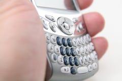 巧妙的移动电话 库存照片
