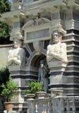 巨人别墅d'Este古色古香的雕象  免版税库存照片