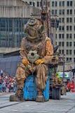 巨人在蒙特利尔 免版税图库摄影