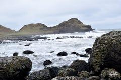 巨人堤道北爱尔兰海岸02 库存图片