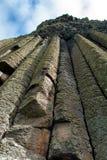 巨人堤道在北爱尔兰 免版税库存照片