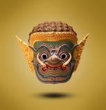 巨人泰国的艺术面孔 库存图片
