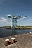 巨人起重机Clydebank 02 库存照片