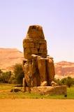 巨人雕象在埃及 库存图片