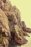 巨人(15 km, 220一千只海雀科的鸟剧情  库存照片