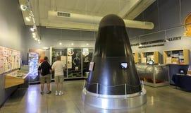 巨人II ICBM核弹头复制品 免版税库存图片