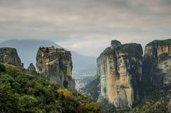 巨人Meteora 免版税图库摄影