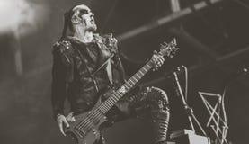 巨兽,猎户星座,在音乐会2017年,黑金属居住 库存图片