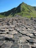 巨型's堤道。北爱尔兰 库存图片