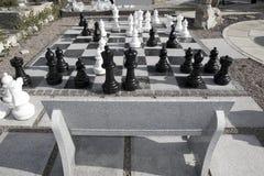巨型一盘象棋 库存照片