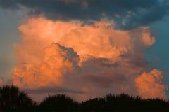 巨型云彩形成 免版税库存图片
