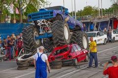 巨型卡车 免版税库存图片