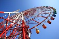 巨型天空轮子 免版税库存图片