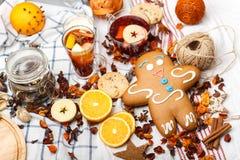 巨型姜饼 免版税库存图片