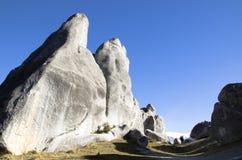 巨型岩石在新西兰 免版税库存照片
