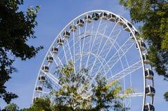 巨型弗累斯大转轮布达佩斯 库存照片