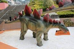 巨型恐龙exhibitio的香港传奇 免版税图库摄影
