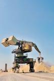 巨型戽头转轮挖土机 免版税库存照片