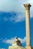 巨型柱子 库存图片