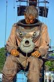 巨型深海潜水员 图库摄影