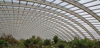 巨型温室屋顶 库存图片
