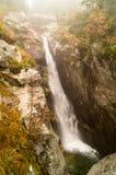 巨型瀑布 Tatransky narodny公园 tatry vysoke 斯洛伐克 免版税图库摄影
