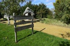 巨型的岩石在公园 库存图片