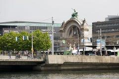 巨型的曲拱在卢赛恩 图库摄影