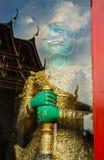 巨型监护人wat pho,曼谷,泰国 库存照片