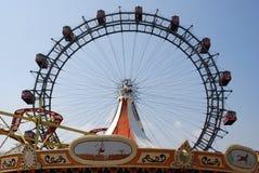 巨型维也纳人的轮子 免版税库存图片