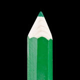 巨型绿色铅笔 库存照片