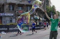 巨型肥皂泡 库存照片