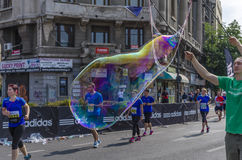 巨型肥皂泡 图库摄影