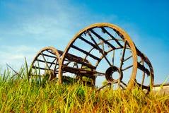 巨型轮子 免版税库存图片