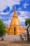 巨型金黄塔表面 免版税库存图片