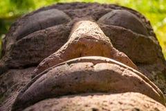 巨型雕象睡觉 免版税图库摄影