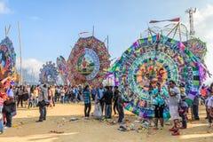 巨型风筝节日,万圣节,危地马拉 库存照片