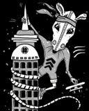 巨型鼠孔 免版税图库摄影