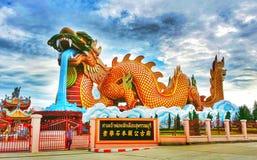 巨型龙 免版税图库摄影