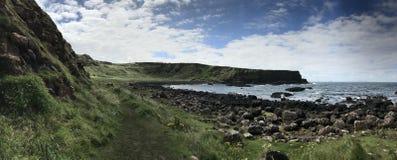 巨型` s堤道在北爱尔兰,欧洲 图库摄影