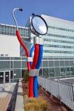 巨型sculputre采取脉冲 免版税库存照片
