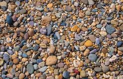 巨大五颜六色的石头背景 图库摄影