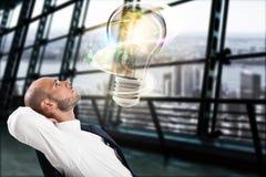巨大企业想法概念 免版税库存照片
